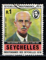 SEYCHELLES - 1976 - Sir Bickham Sweet-Escott - Seychelles' Independence, June 29, 1976 - USATO - Seychelles (1976-...)