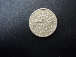 TCHÉCOSLOVAQUIE : 50 HALERU   1924    KM 2       TTB * - Tschechoslowakei