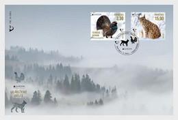 Croatia Kroatien  MNH ** 2021  Europa 2021 - Endangered National Wildlife FDC M - 2020