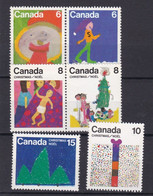 Canada 1975 584-89 Natale Mnh - Unused Stamps
