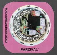 Carton PARZIVAL  Malarmigadhorlogoj ( Horloges Pour Le Désarmement)  (PPP28766) - Publicités