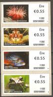 Ireland 2011 MiNr. 23 - 26  Irland, Automatenmarken Fishes Marin Life Animals Frog 4v MNH** - Frogs