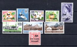 T1-8 Cook PA N° 1 à 9 ** A Saisir !!!  Avions - Cook Islands