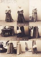 Fant336 ♥️ Rare Série Complète 10 Carte-Photo  BONNES SOEURS 1903 à GAYREL Gaillac R.P.I 3031 G.L - Non Classificati