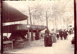 Photo  Exposition Universelle Paris 1900 Exposition De La Bretagne 1 Dolmen - Lieux