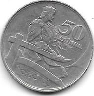 *latvia 50 Santimu 1922  Km 6  Xf - Latvia
