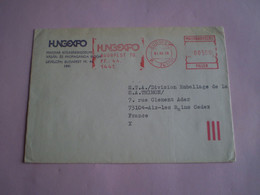 EMA  Budapest, Hongrie HUNGEXPO 500 Filler - Postmark Collection