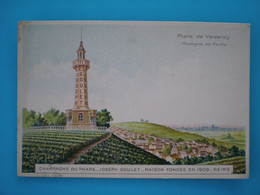 France > [51] Marne > Phare Champagne De Verzenay Joseph Goulet Publicité - Otros Municipios
