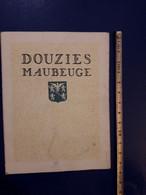 PUBLICITE DOUZIES MAUBEUGE CARREAUX DE CARREALGE CERAMIQUE MOSAIQUE - Publicités