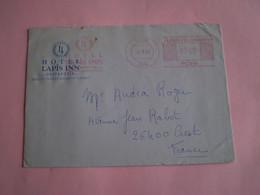 EMA  Hôtel LAPIS INN à Ortahisar, Cachet De Urgup, Turquie 700lira - Postmark Collection