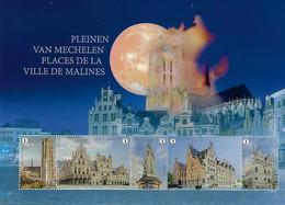 2021 Pleinen Van Mechelen / Places De La Ville De Malines - Unused Stamps