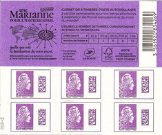 Carnet Yseult Yz   Une Marianne Pour L'international     RGR-2 - Usage Courant