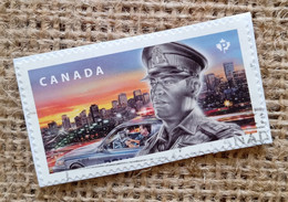 CANADA 2018 , POLICE , USED ON  PAPER - Used Stamps