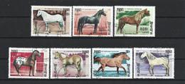 Kampuchea 1986 Horses Y.T. 611/617 (0) - Kampuchea