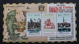 Dänemark 2014/6 Block 76 **/mnh, EUROPA/CEPT 2020,  Historische Postrouten - Blocks & Kleinbögen