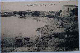 LE BRUSC (Var) - La Plage Du Cros - Andere Gemeenten