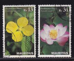 Mauritius 2016, Flowers Vfu - Mauricio (1968-...)