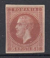 ROEMENIË - Michel - 1872 - Nr 40  MOOI (Ongetand) - (*) - 1858-1880 Moldavia & Principality