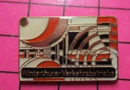 SP04 Pin's Pins / Beau Et Rare / THEME : TRANSPORTS / AUTOBUS ART MODERNE WINTERTHURER Etc ... - Transportation