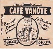 Buvard & Blotter -   CAFE VANOYE Le Fervan - Le Meilleur De Tout Paris - Unclassified
