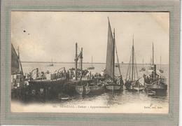 CPA - DAKAR (Sénégal) - Aspect Des Bateaux, Barques, Canots à L'appontement En 1900 - Senegal