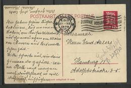 Estland Estonia 1929 Postal Stationery Ganzsache To Germany Hamburg - Estonia