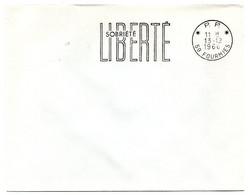 NORD - Dépt N° 59 = FOURMIES 1966 = FLAMME PP Codée = SECAP  'Prospérité - Sobriété' - Maschinenstempel (Werbestempel)