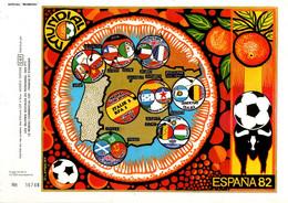 DOCUMENT ENCART FOOTBALL  MONDIAL 82 ESPAGNE - 1982 – Espagne