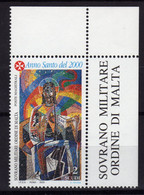 MALTA SMOM Ordre De Malte 2000 Sass.597 MNH ** - Malte (Ordre De)
