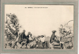 CPA - SENEGAL - On Ne Part Pas Sans Payer,  En 1900 - Senegal
