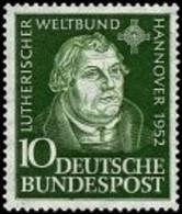 Bund, Michel Nr. 149 Postfrisch - Lutherischer Weltverband - Unused Stamps
