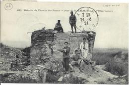 Bataille Du Chemin Des Dames Fort De La MALMAISON L'Observatoire ( Chavignon ) - Altri Comuni