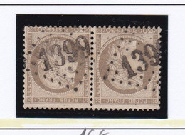 GC 1399 FINHAN ( Dept 85 Tarn Et Garonne ) S / N° 56 Paire - 1849-1876: Periodo Classico