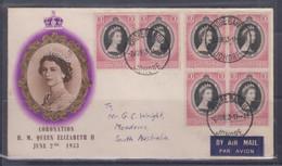Malaya, Johore 1953 QEII Coronation FDC - Malaysia (1964-...)