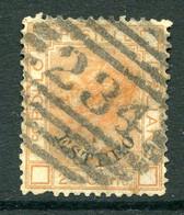 Italian Levant 1878-79 - Colours Changed - 20c Orange Used (SG 11) - Emissioni Generali