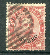 Italian Levant 1881-83 - Stamps Of 1879 - 10c Claret Used (SG 13) - Emissioni Generali