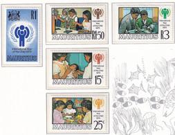 Michel - 484-488 - Postfrisch/**/MNH - Mauricio (1968-...)