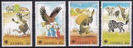 Michel - 205-208 - Postfrisch/**/MNH - Zambie (1965-...)