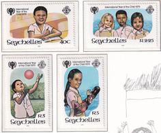 Michel - 443-446 - Postfrisch/**/MNH - Seychelles (1976-...)