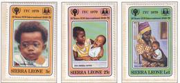 Michel - 578-580 - Postfrisch/**/MNH - Sierra Leone (1961-...)