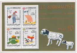Michel - BL8 - Postfrisch/**/MNH - Somalie (1960-...)