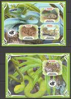 PA026 2019 SNAKES REPTILES FAUNA BL+KB MNH - Snakes