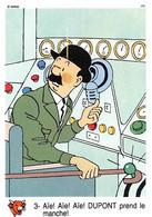 Tintin Vache Qui Rit Image 3 Espace Voyage Vers La Lune Dupont - Unclassified