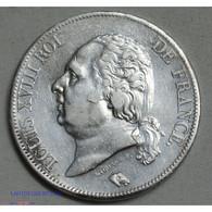 Louis XVIII 5 FRANCS 1819 B (ROUEN), Lartdesgents.fr - J. 5 Francs
