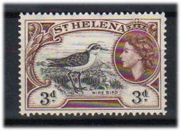 St. Helena 1953 Bird   Saint Helena Plover  (Charadrius Sanctaehelenae)   Mi 128   MNH(**) - Saint Helena Island