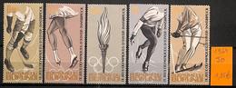 D - [815472]TB//**/Mnh-Burundi 1964 -  Jeux Olympiques, Sports, Patinage Artistique, Ski, Hockey (Sur Glace) - Other