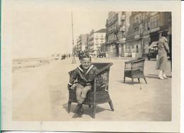 Heist Aan Zee  Jongeman Aan De Boulevard 1925 - Plaatsen