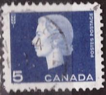 PIA - CANADA :1962-63 -  Regina Elisabetta II°  - (Yv  332) - Used Stamps