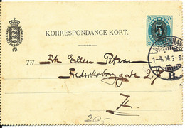 Denmark Korrespondance Kort 1-4-1904 - Briefe U. Dokumente