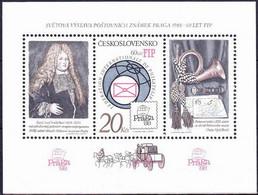 ** Tchécoslovaquie 1986 Mi 2864 - Bl.67 A (Yv BF 71), (MNH) - Nuevos